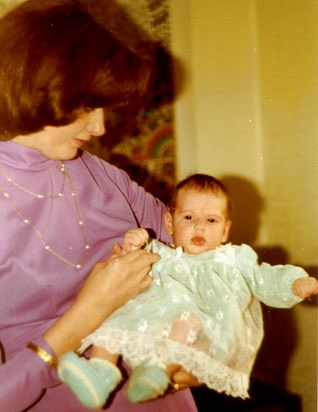 My precious Mum and me as a baby x