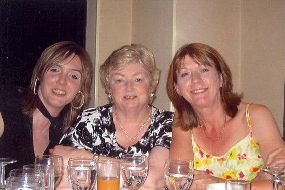 Mum with Michelle and Jenny x