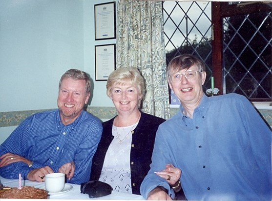 Mum with Ken and Dad
