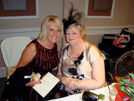 Mum and Jenny ( two beautiful and important inspirational people to me, love you both so much) x