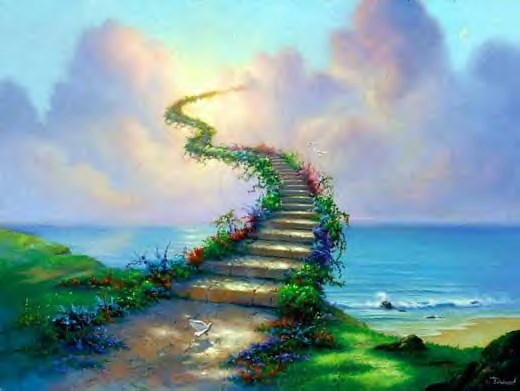 stairs to heaven visiting Faith