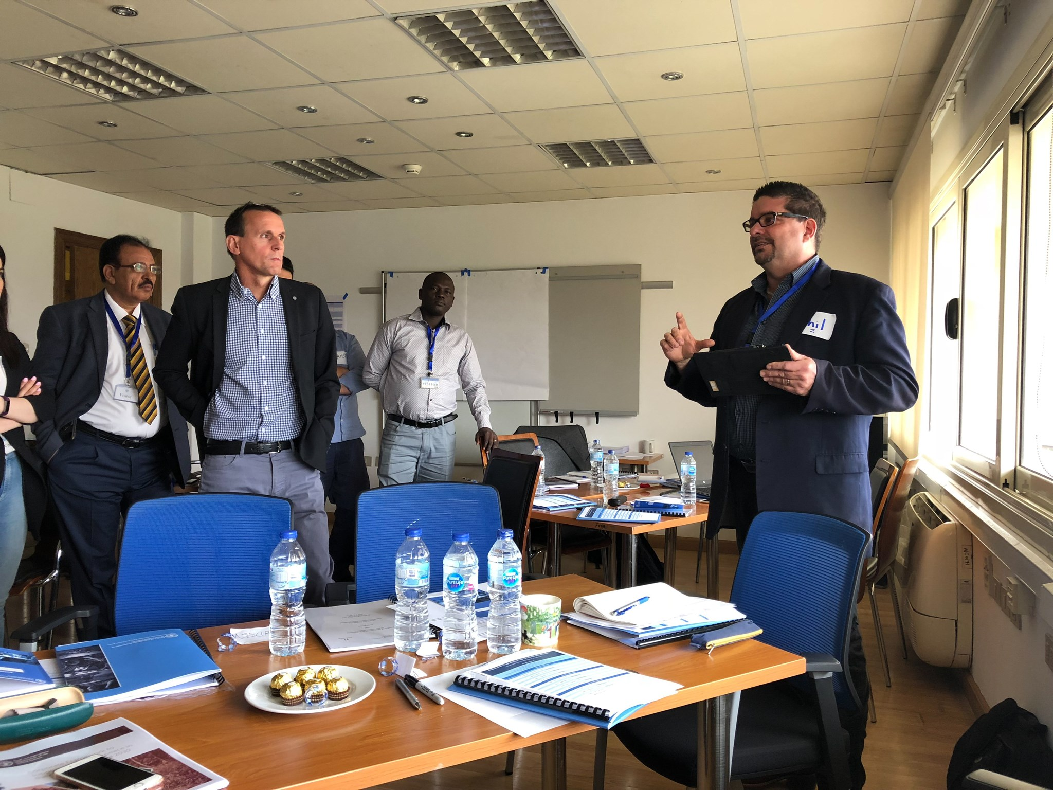 FAO workshop in Cairo, Egypt (May 2018)