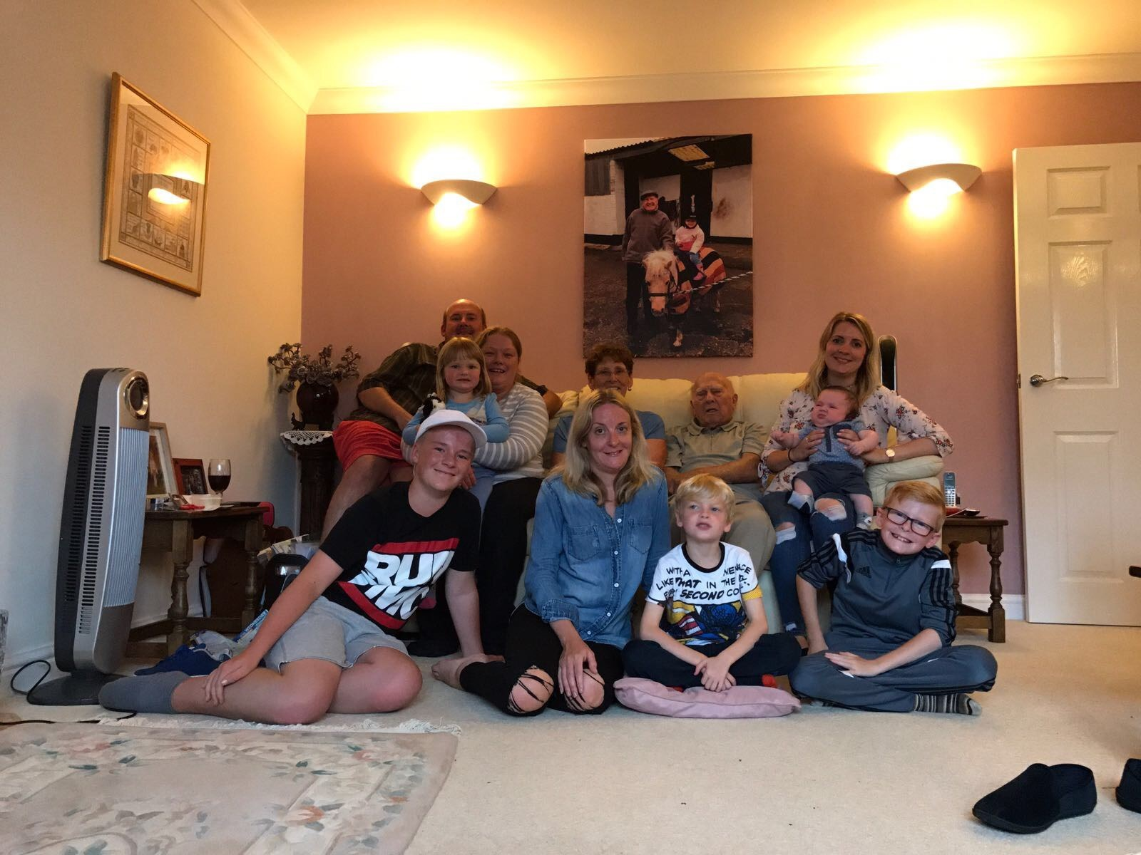 The family that Jon loved and cared for xx