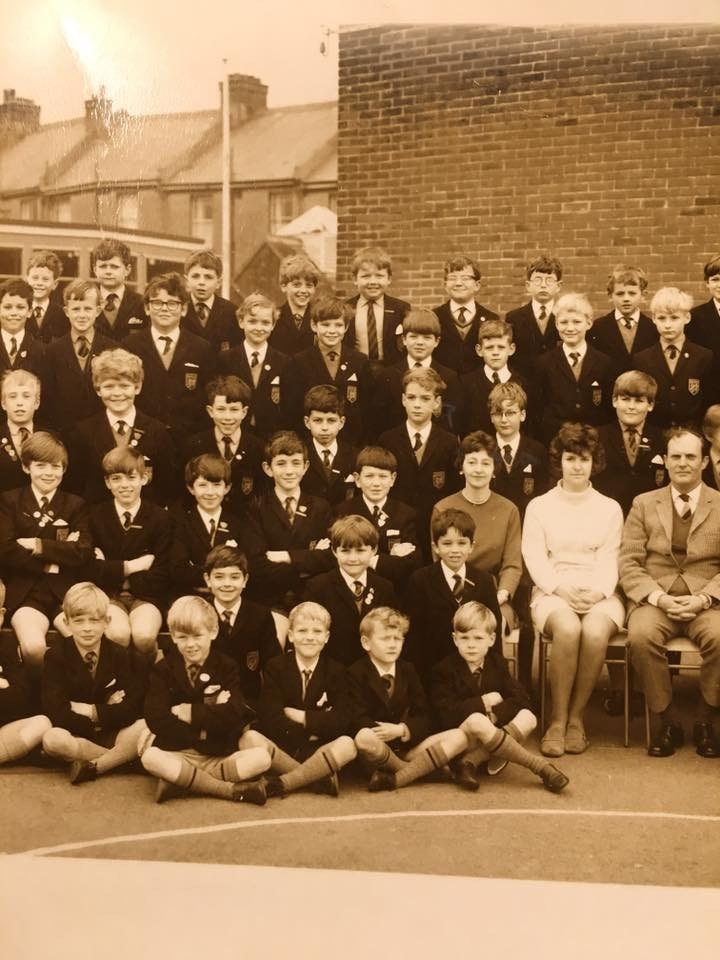 Supply teaching at St. Mary's boys' school in Eastbourne