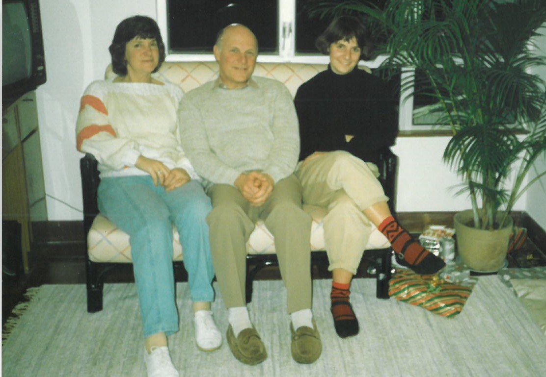 Audrey with David and Helen in Hong Kong