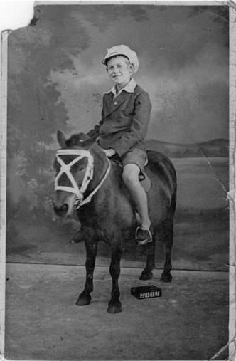 Dad as a young boy