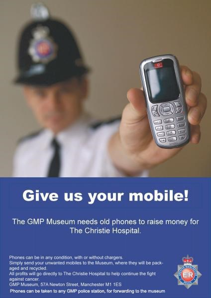 Old Mobile Phones Fund Raising Appeal
