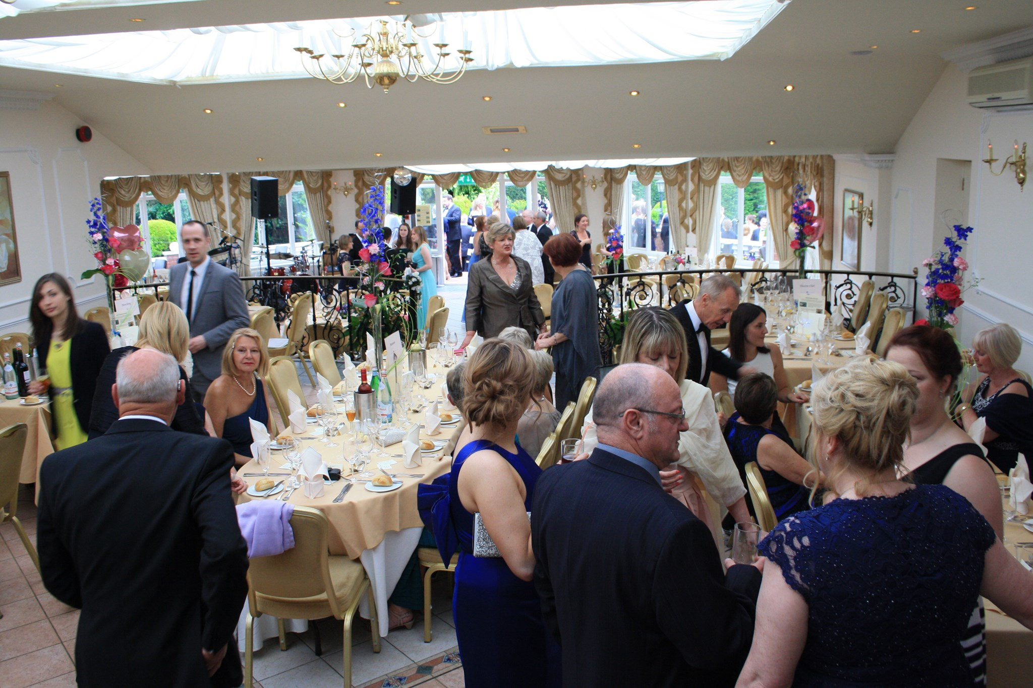 Gathering before The Ball