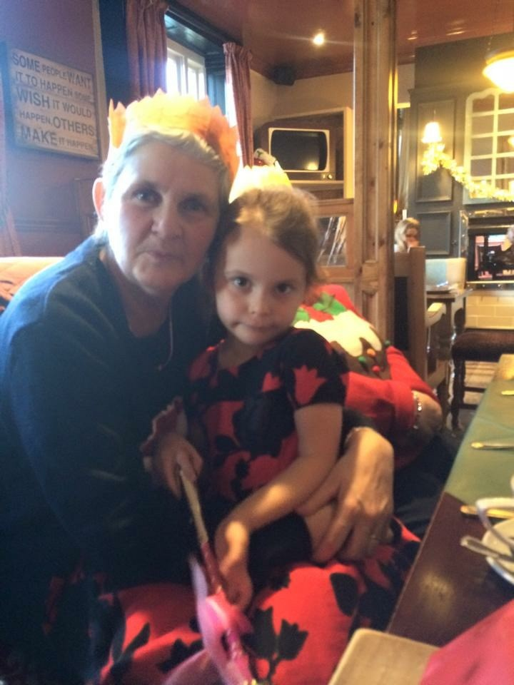 Bev and her little niece Lucia