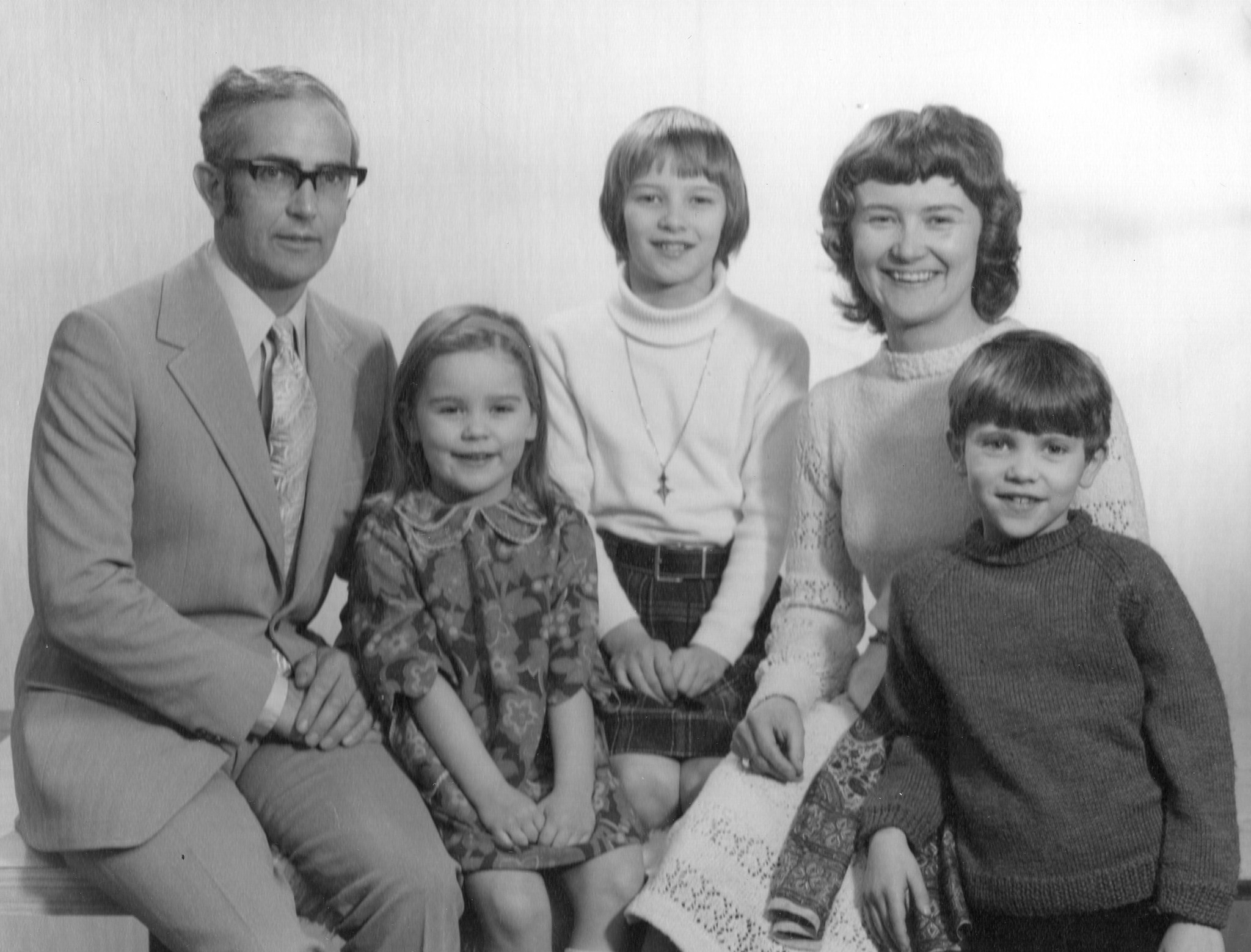 Yes it was the early 1970's! With children Jenny, Lucy & Richard.