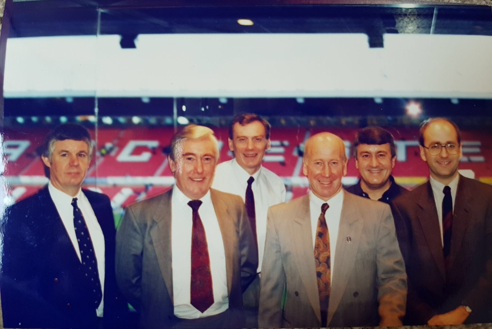 A day at Old Trafford with Bobby Charlton arranged by Chris Mac