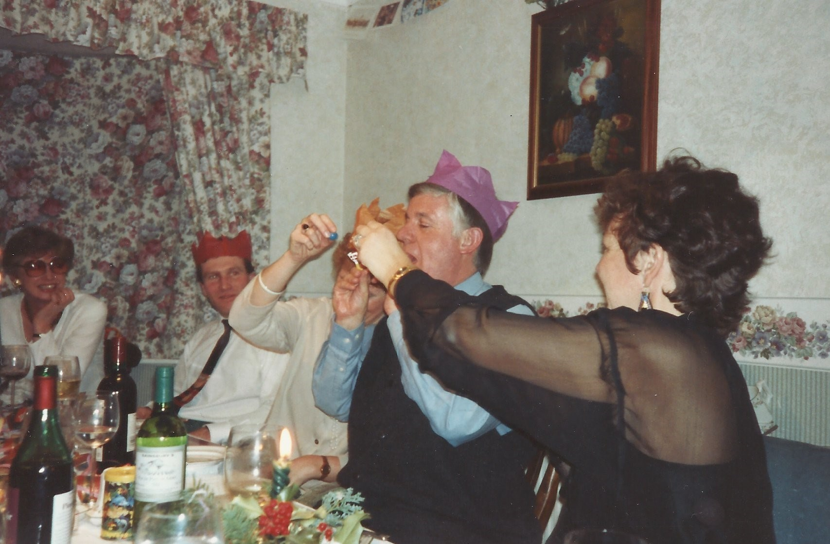 Christmas with Hadlow friends