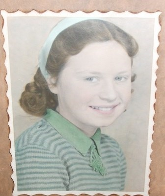 Beautiful picture of young Betty