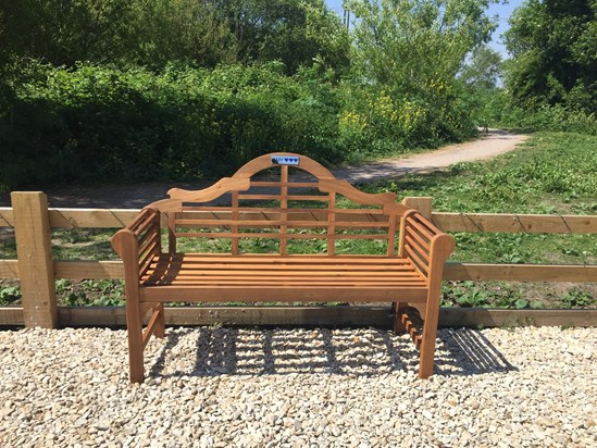 Bench donated by Parents of Amy's friends