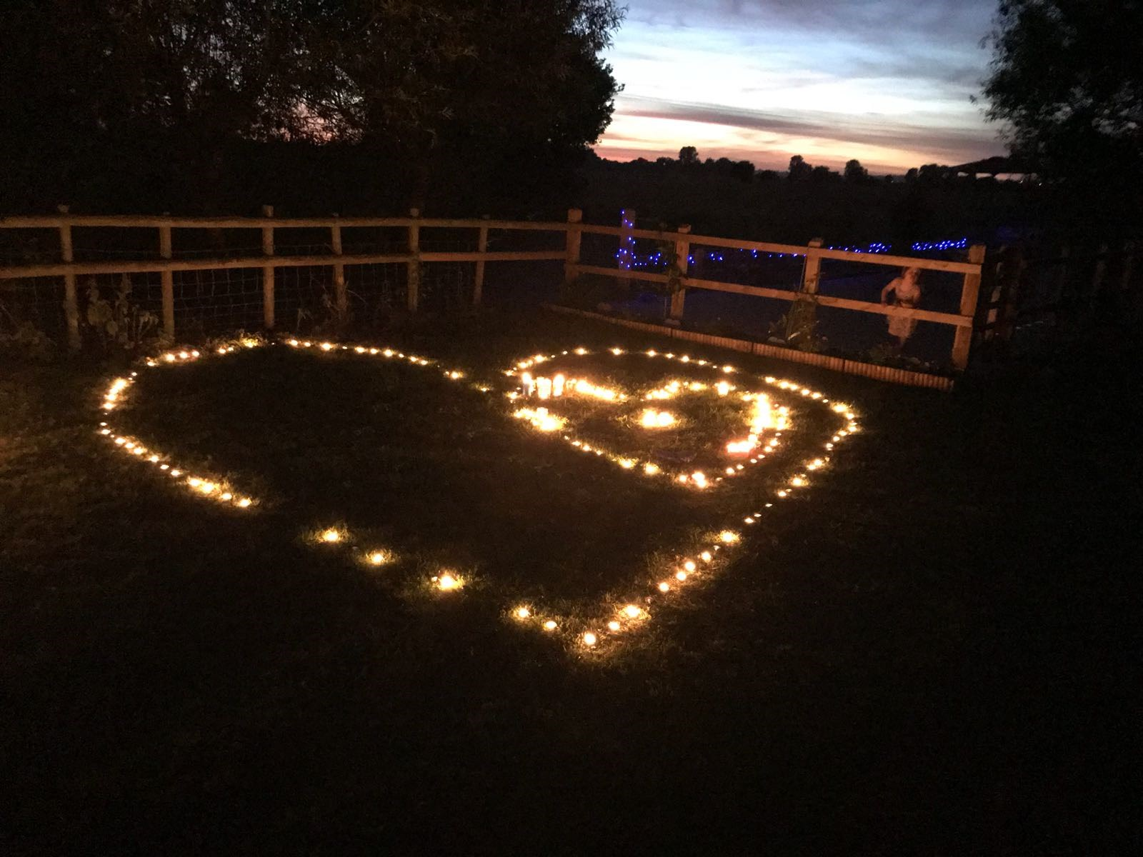 Candles lit in Memory of Amy 23.06.18