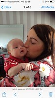 Kisses from mummy 