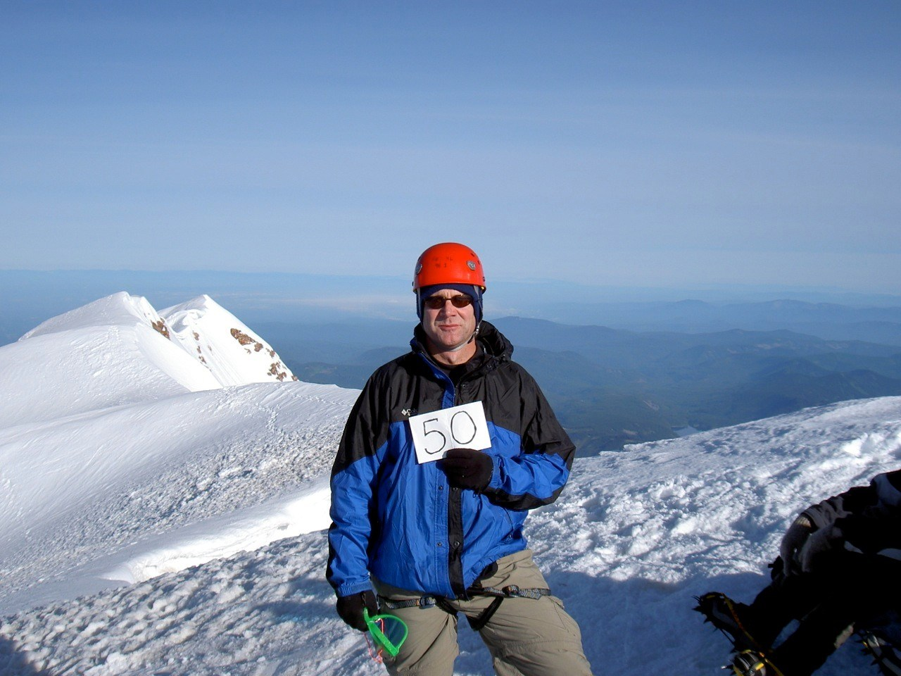Summiting Mt. Hood