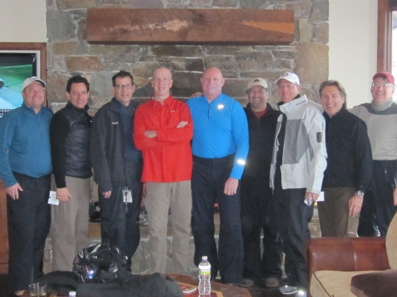 Scott, Terrill & some of the guys - February 2013