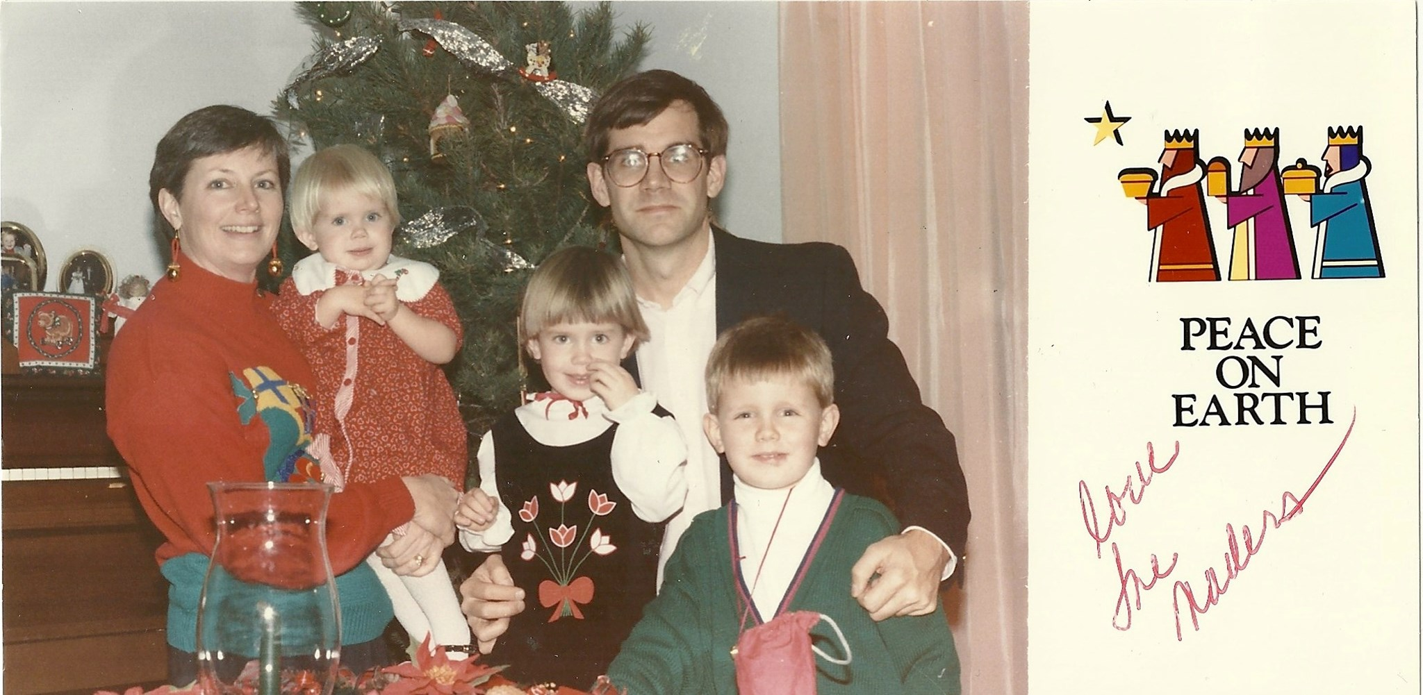 Mader Christmas~the early years!