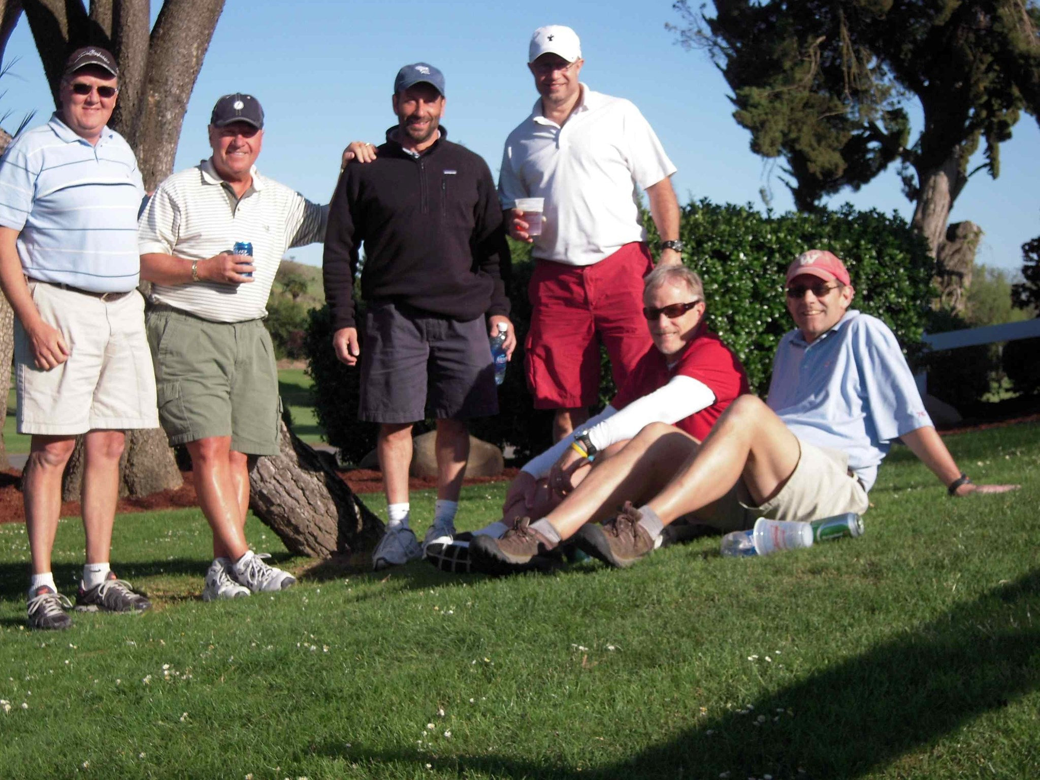 Group Photo after golf