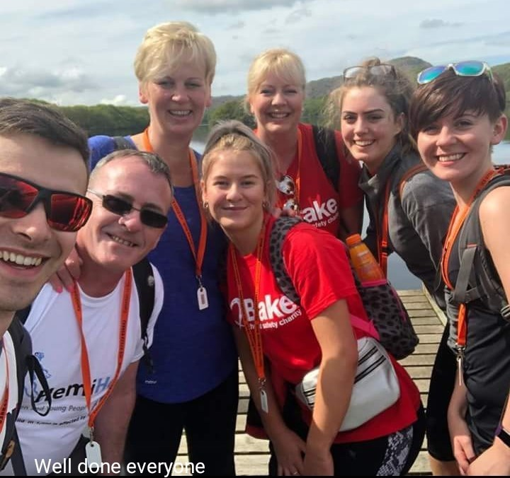 Walking for Caitlin Coniston to Barrow 2018