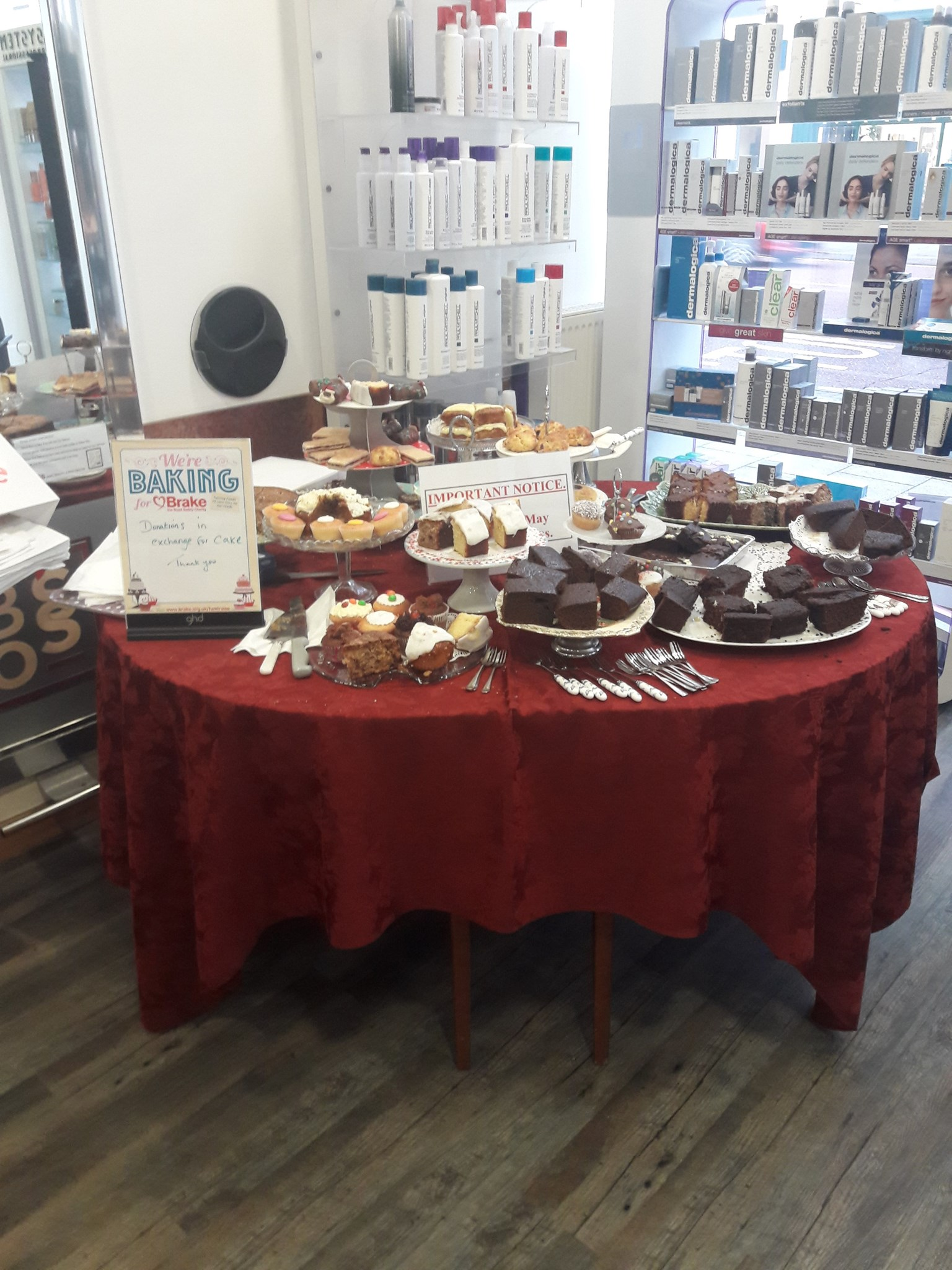 Bake for Brake raised £425