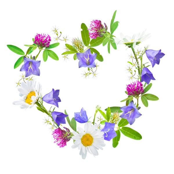 FLOWER HEART - sent on April 24th, 2021
