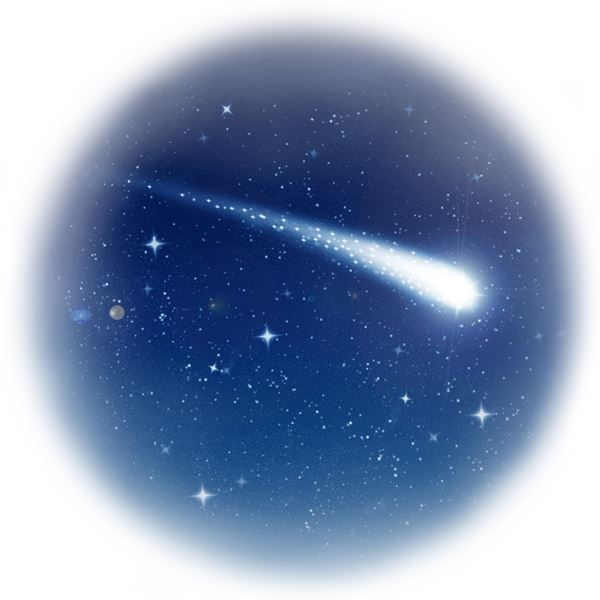 SHOOTING STAR WISH - sent on November 8th, 2020