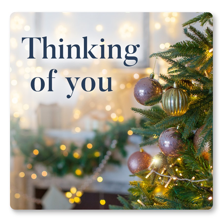 Thinking of you this Christmas