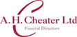 A. H. Cheater Ltd - Independent Family Owned Funeral Directors